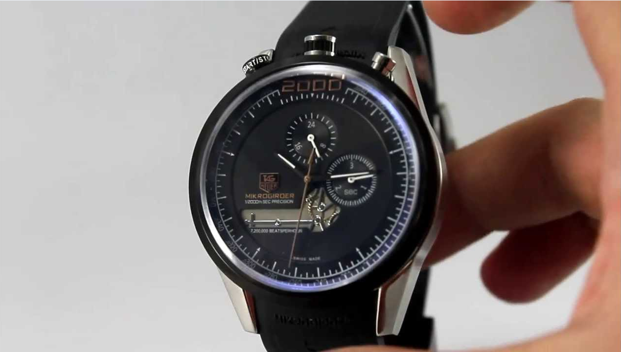 Replica Tag Heuer mikrogirder watches